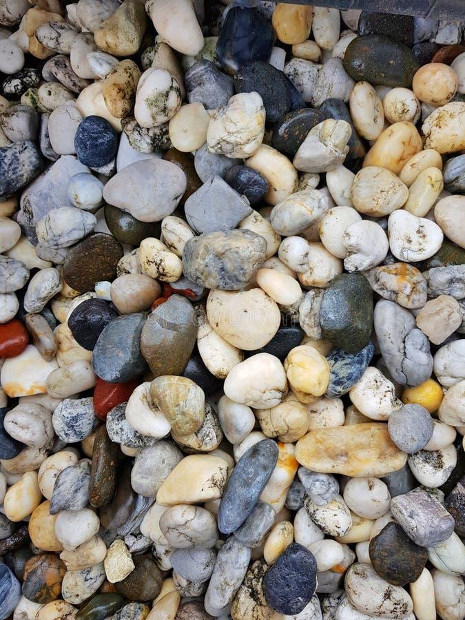 круглые камни стоковые фото