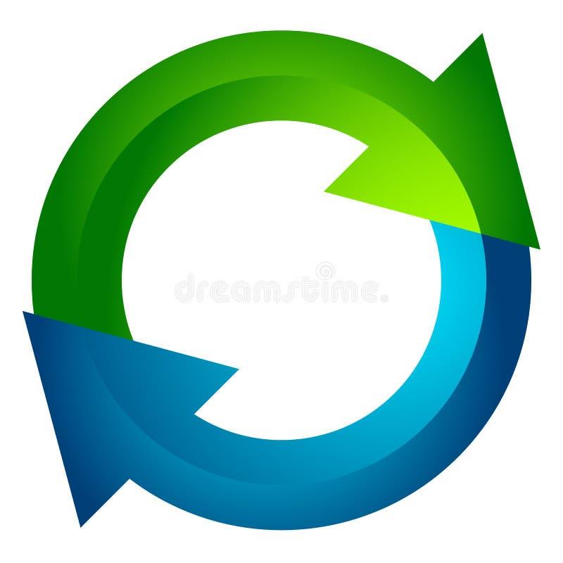 Download Круговая стрелка, значок стрелки круга Вращение, рестарт, извив, Tur Иллюстрация вектора - иллюстрации насчитывающей кнопка, представление: 81814482