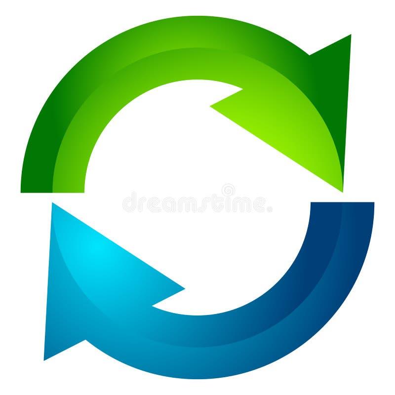 Download Круговая стрелка, значок стрелки круга Вращение, рестарт, извив, Tur Иллюстрация вектора - иллюстрации насчитывающей возврат, гирация: 81814491