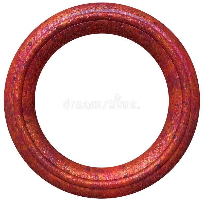 круговое изображение рамки иллюстрация вектора