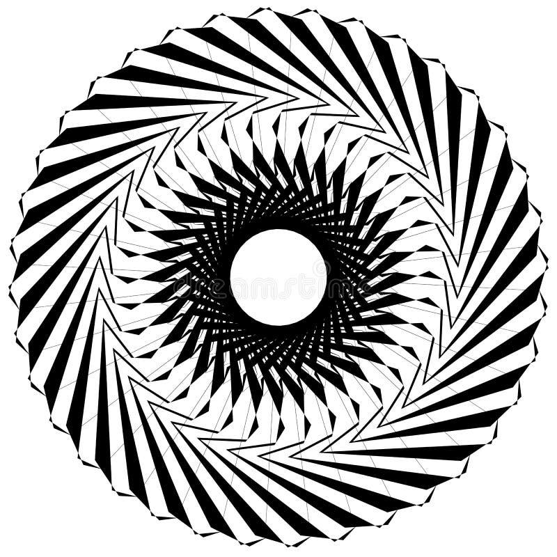 Download Круговой геометрический элемент Вращая формы, Illu форм абстрактное Иллюстрация вектора - иллюстрации насчитывающей гирация, helix: 81808729