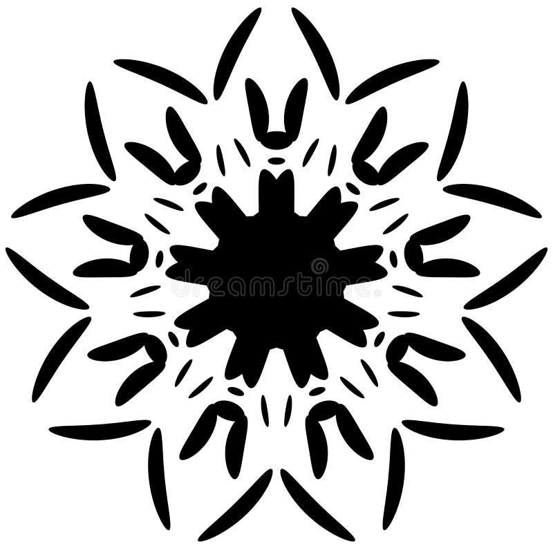 Download Круговой дизайн с эффектом искажения Абстрактное Monochrome Elem Иллюстрация вектора - иллюстрации насчитывающей пункт, кругово: 81810558