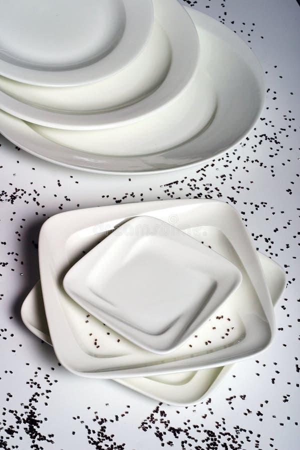 круговой квадрат плит стоковые изображения