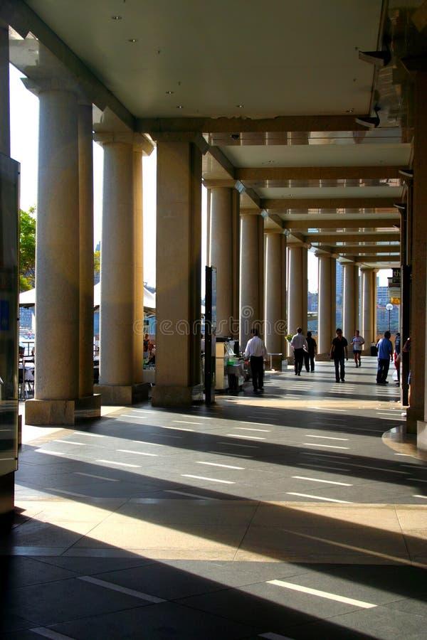 круговой quay Сидней стоковые изображения