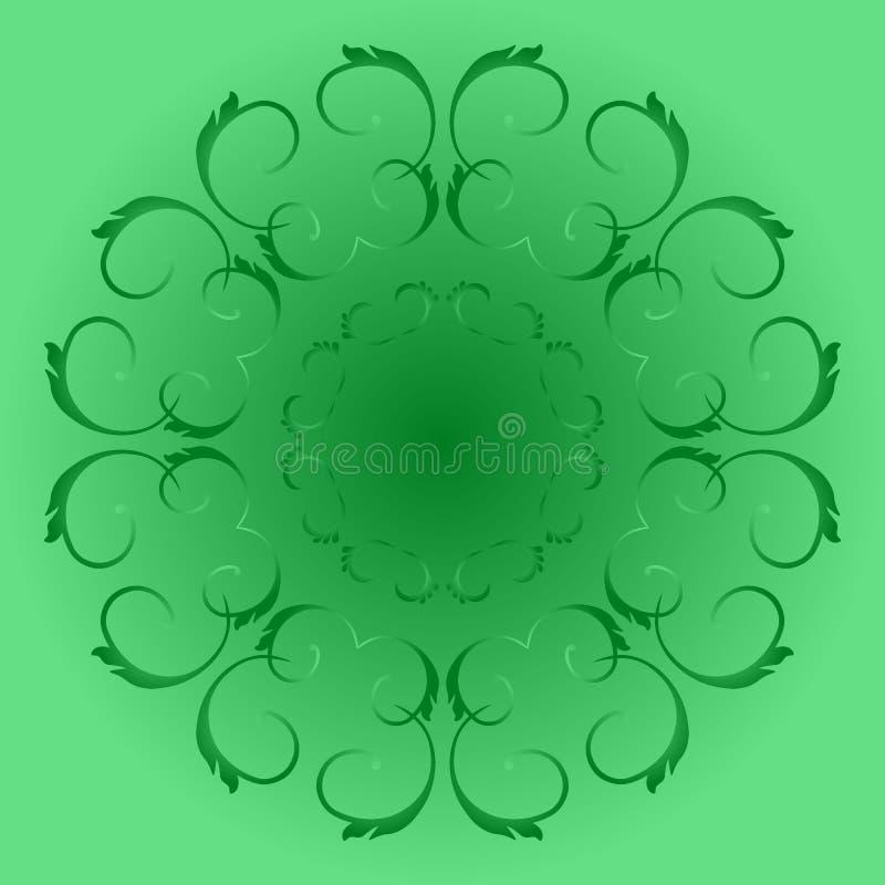 Круговые картины иллюстрация вектора