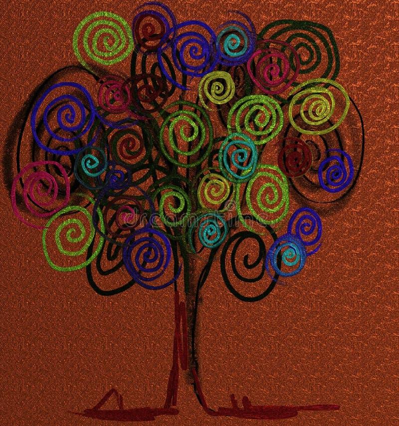 Круг дерева жизни стоковая фотография rf