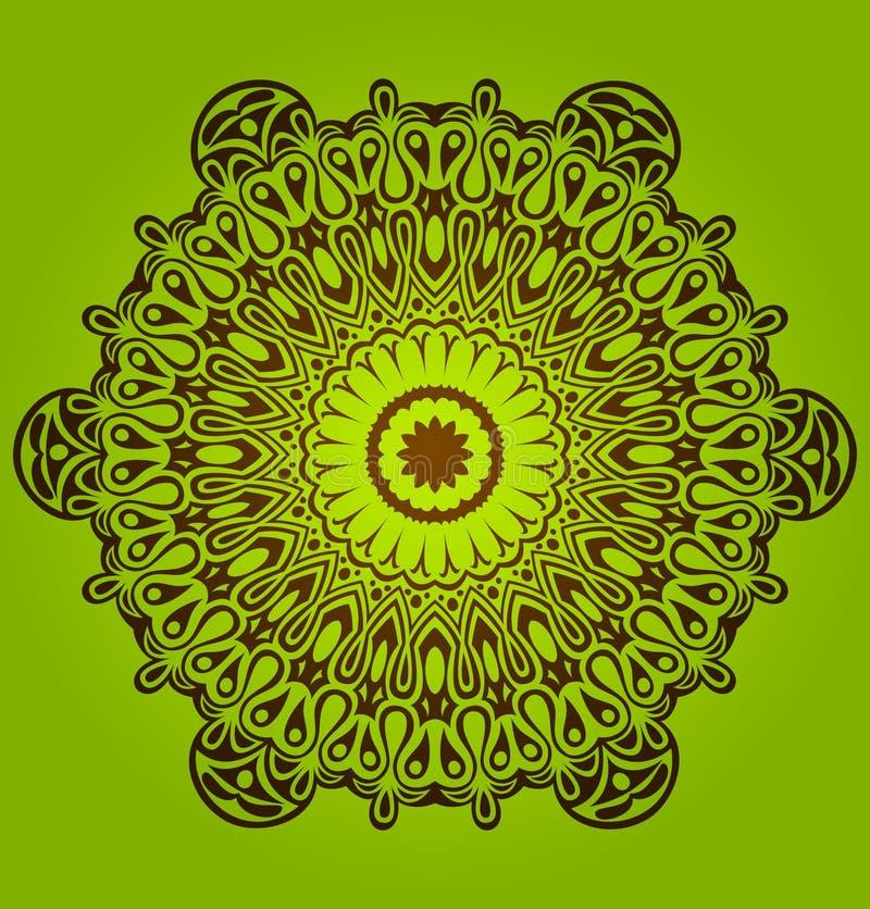 круг орнамента шнурка круга орнаментальный бесплатная иллюстрация