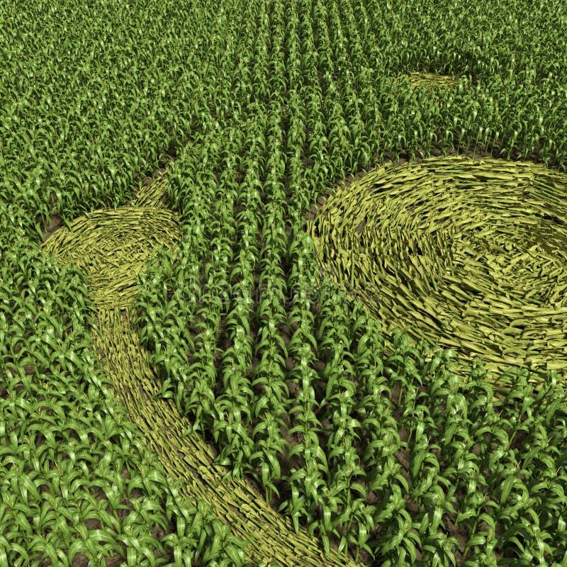 Download Круг урожая иллюстрация штока. иллюстрации насчитывающей внеземно - 41660129