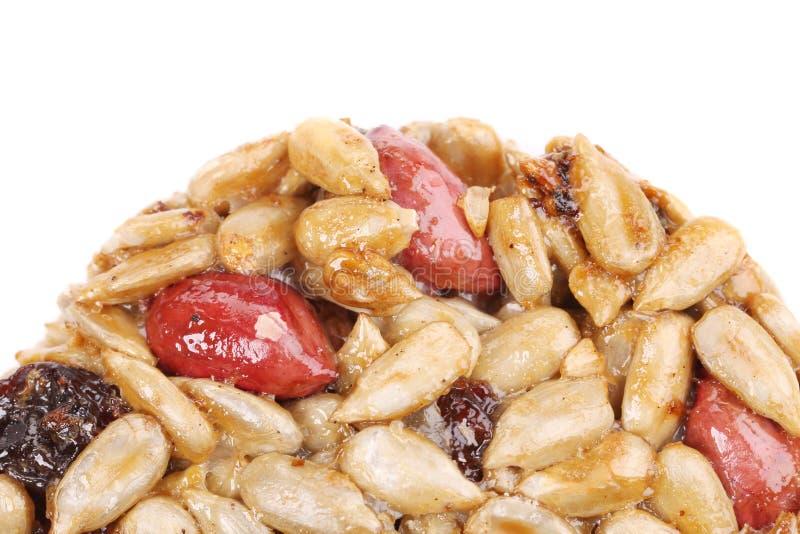 Круглые candied семена и гайки. стоковые изображения rf