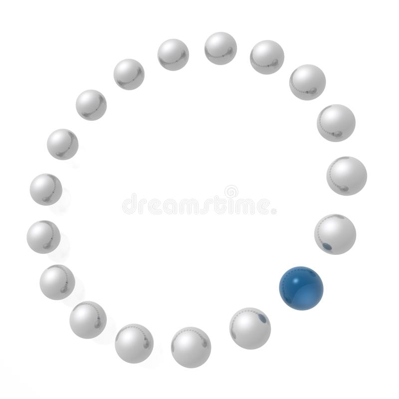 круг иллюстрация штока