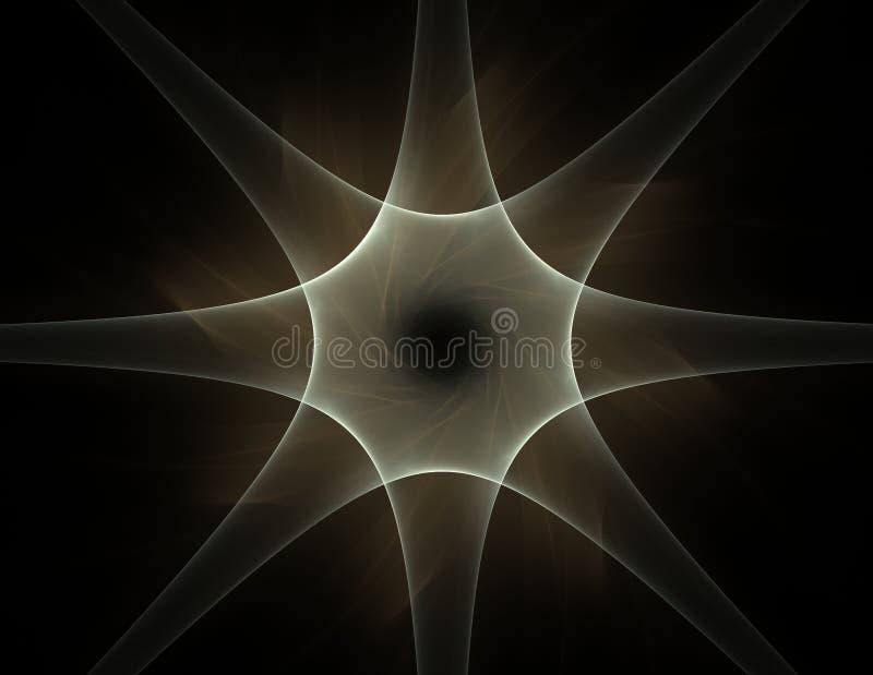 Кружевная красочная картина clockwork Дизайн искусства фрактали цифров иллюстрация вектора