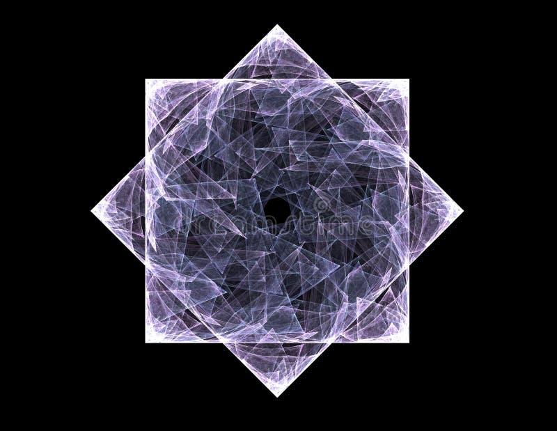 Кружевная красочная картина clockwork, цифровой дизайн искусства фрактали бесплатная иллюстрация
