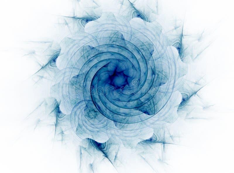 Кружевная красочная картина clockwork, цифровой дизайн искусства фрактали иллюстрация штока