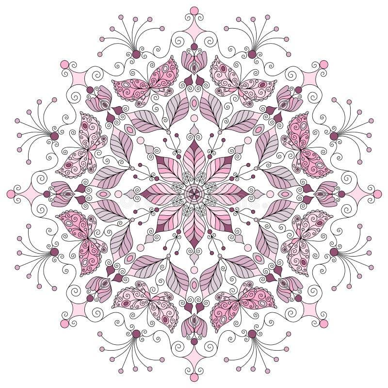 Пастельная круглая картина бесплатная иллюстрация