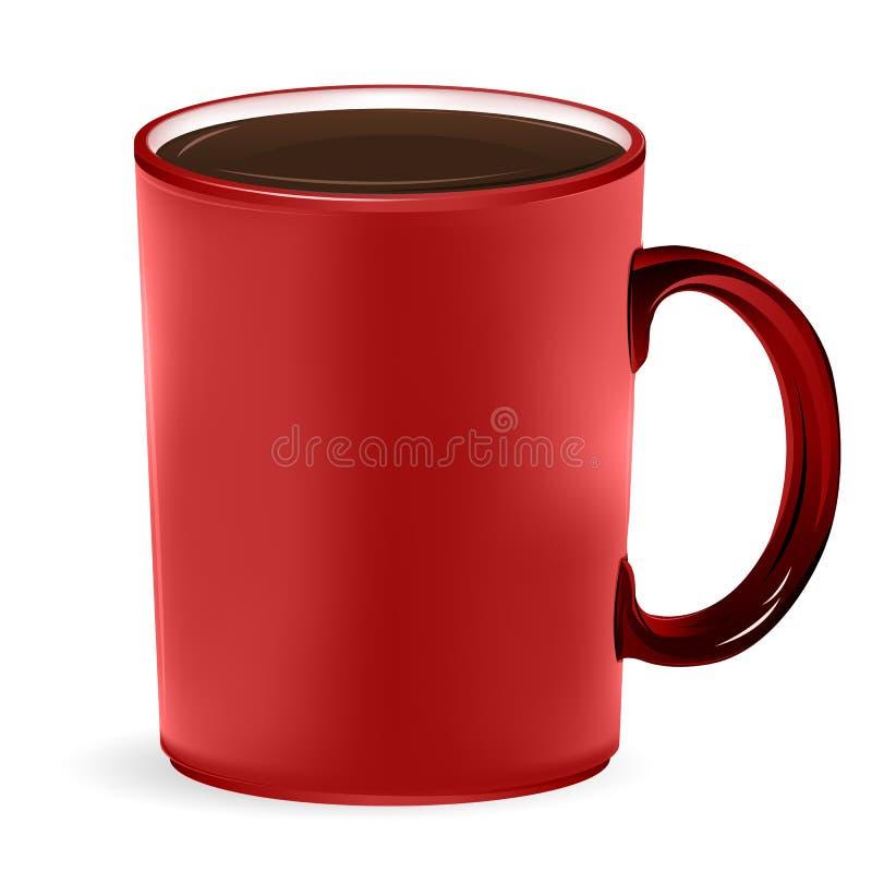Download кружка кофе иллюстрация вектора. иллюстрации насчитывающей breadcrumbs - 18375747