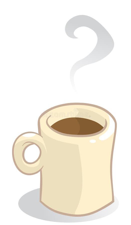 кружка кофе иллюстрация вектора