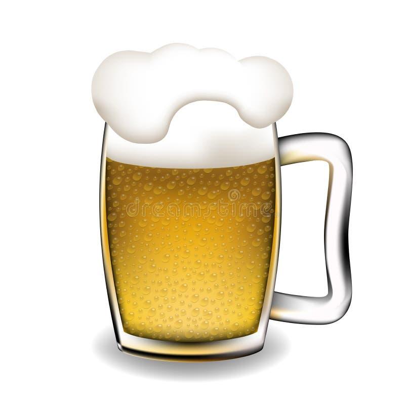 кружка пива иллюстрация вектора