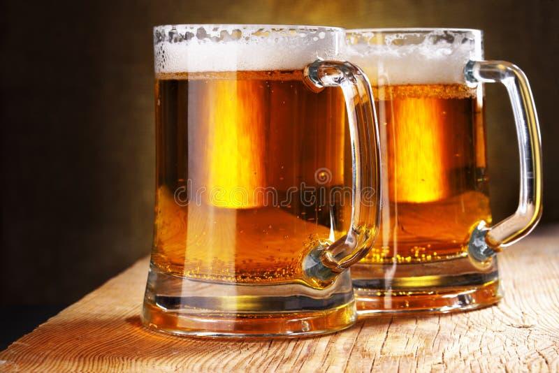 кружки пива стоковое изображение