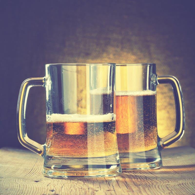 Кружки пива стоковая фотография rf