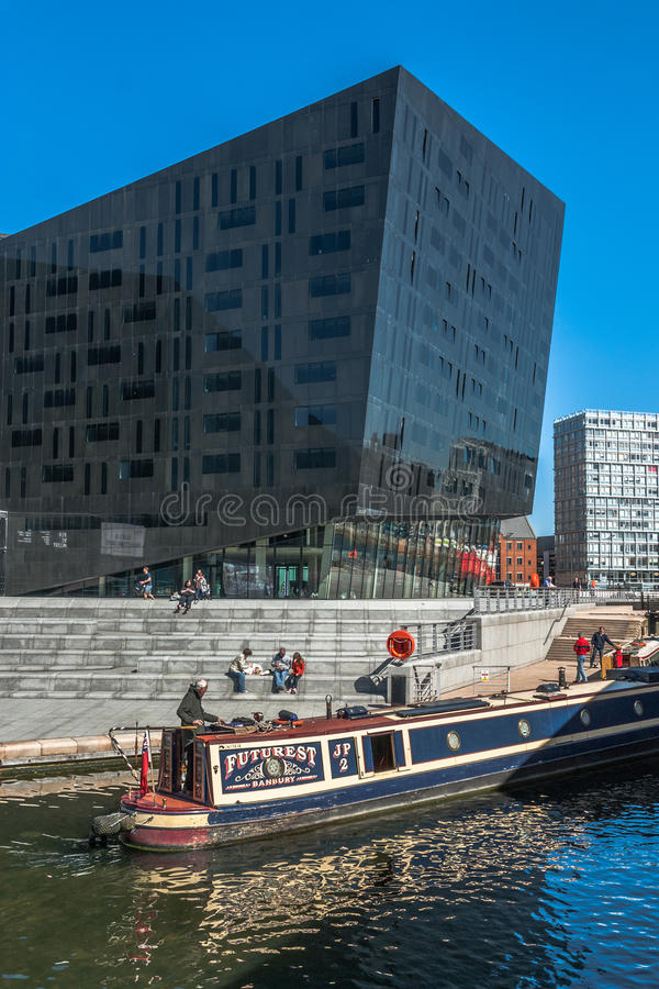 Круиз канала города стоковое изображение rf