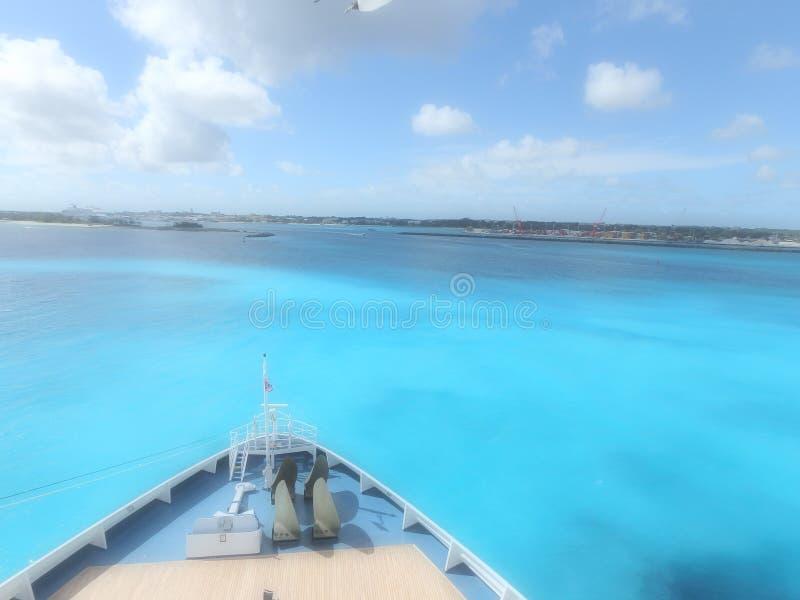 Круиз к Багамским островам стоковое изображение