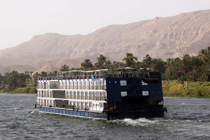 Круиз Нила стоковое изображение