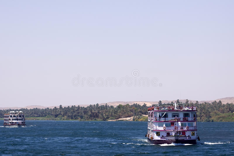Круиз Нила стоковые фото