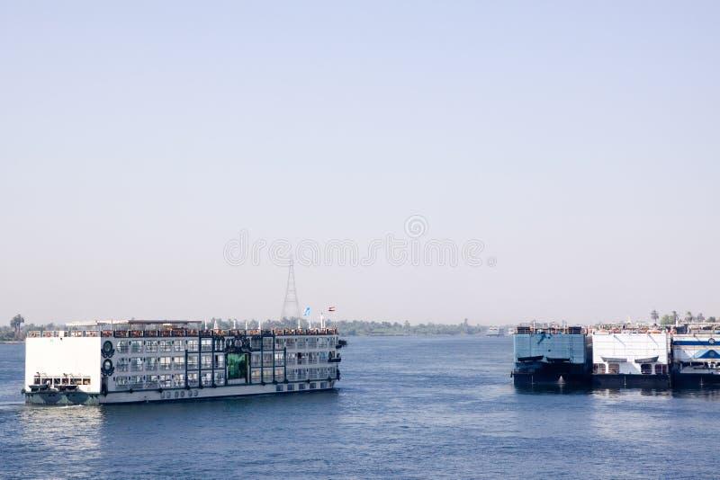 круиз Нил стоковое изображение rf