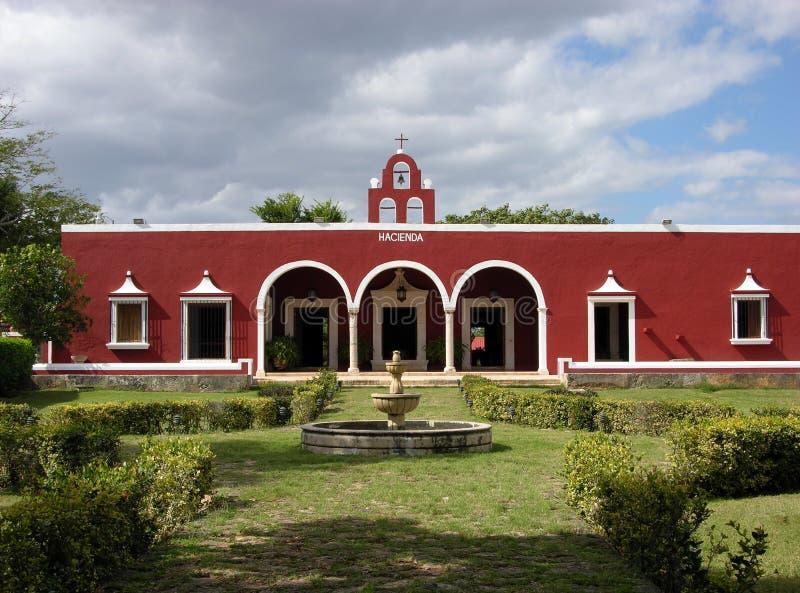 крупное поместье мексиканское стоковое фото