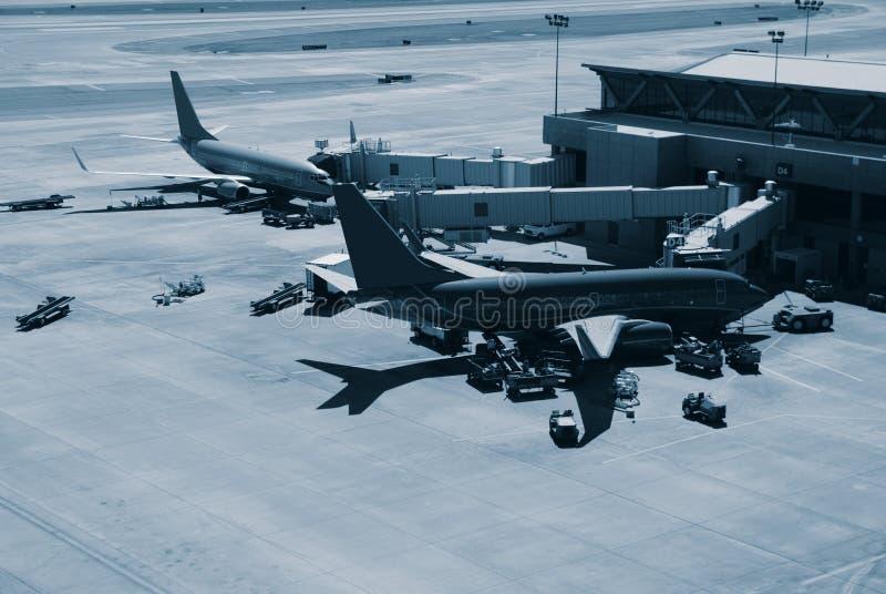крупный аэропорт стоковое изображение rf