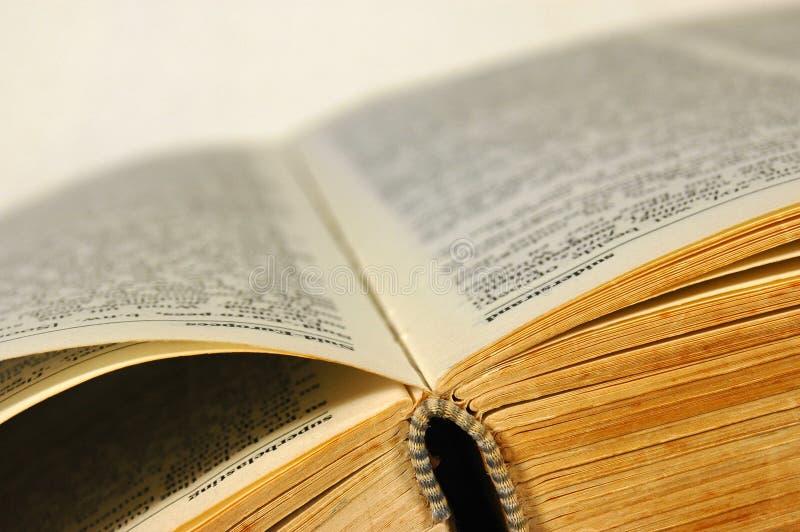 крупный план книги стоковые изображения