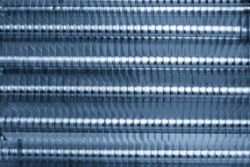 Крупный план конденсируя трубки стоковое изображение