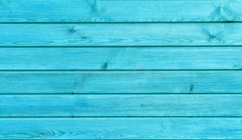 Крупный план покрасил деревянные планки аранжировал горизонтально шаблоны как естественная предпосылка, стены и полы Голубой цвет стоковое фото rf