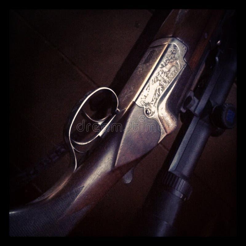 Крупный план пушки охотников