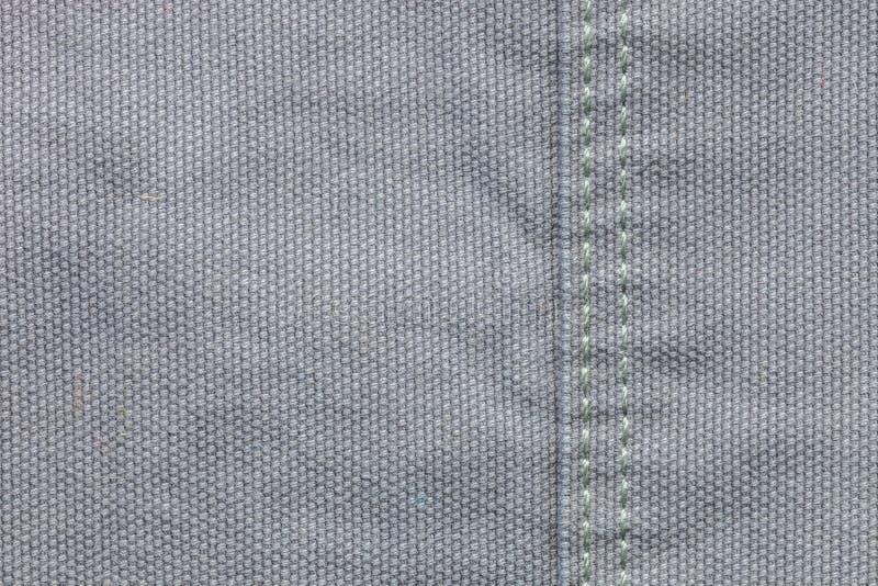 Крупный план серой предпосылки текстуры /denim ткани джинсовой ткани стоковые изображения rf