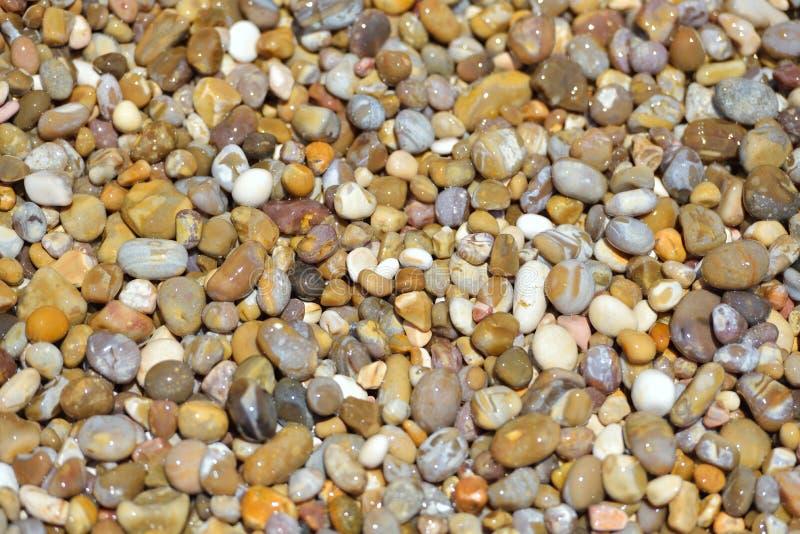 крупный план текстуры камней Картина естественно отполированное Адриатическое море s стоковое фото