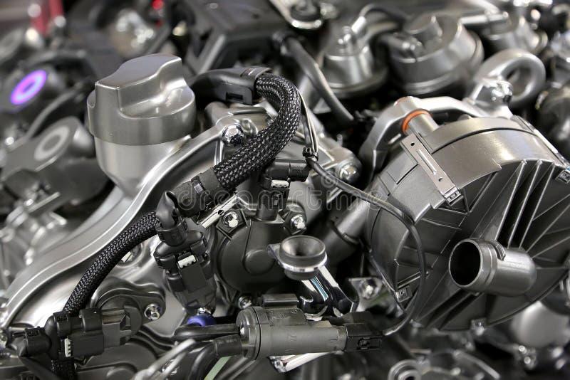 Двигатель автомобиля стоковые фотографии rf