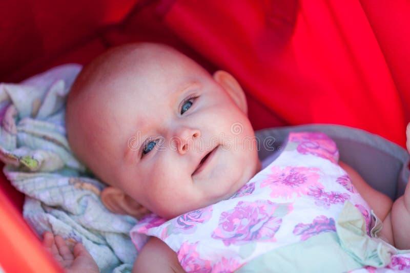 Крупный план маленького младенца стоковые фото