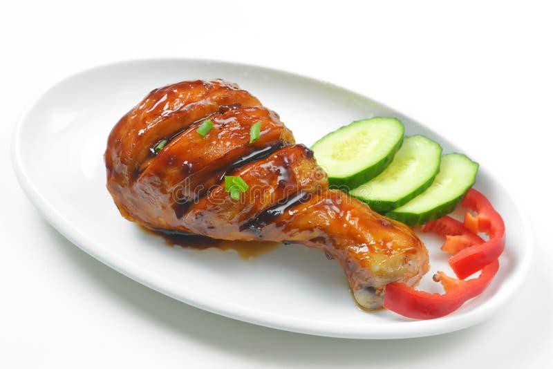 Крупный план ноги цыпленка стоковое фото