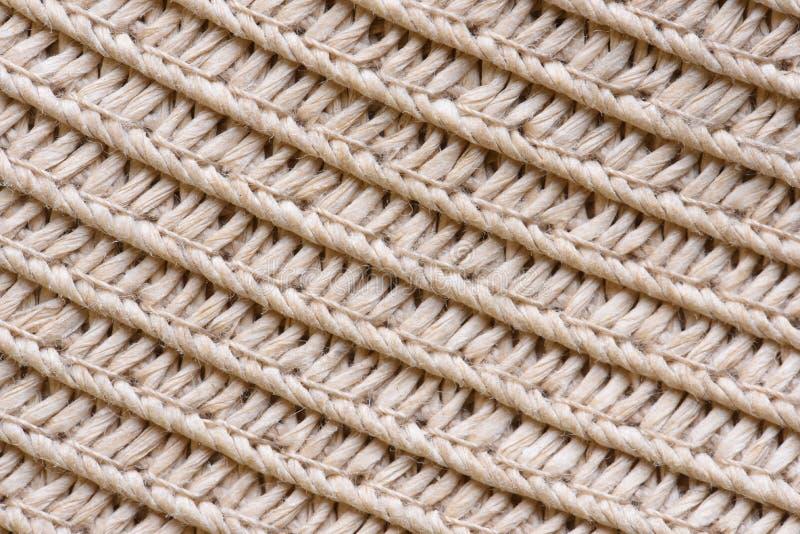 Крупный план текстуры соломенной шляпы стоковое фото rf