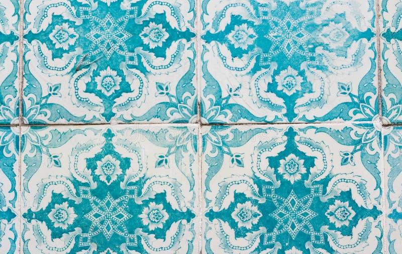 Крупный план azulejos Португалии стоковое фото rf