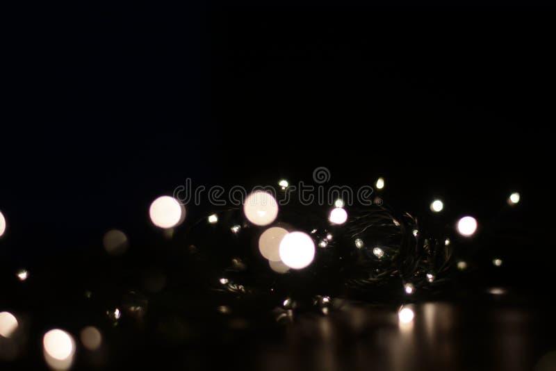 Крутые белые украшения рождественской елки стоковые изображения rf