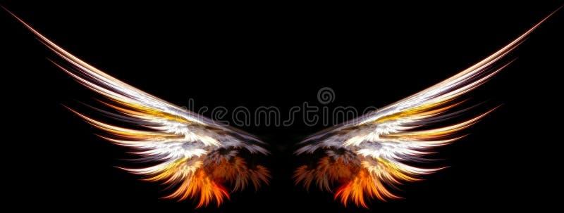 Download крыла ангела иллюстрация штока. иллюстрации насчитывающей конструкция - 475791