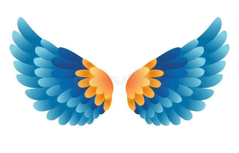 Крыла вектора иллюстрация вектора