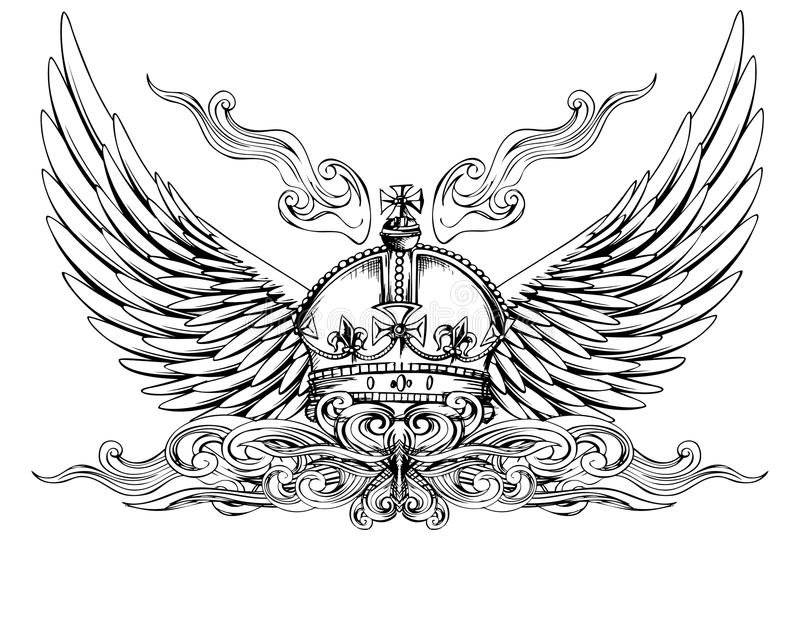 крыла кроны