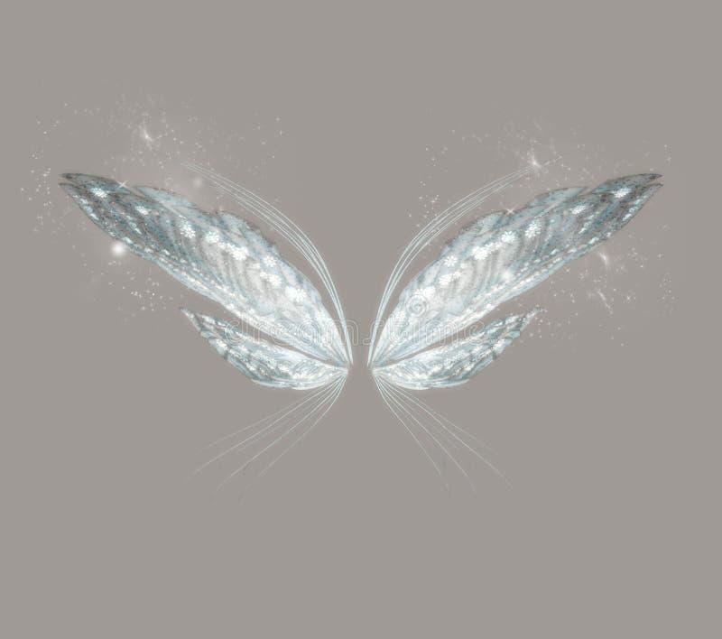 крыла фантазии иллюстрация вектора