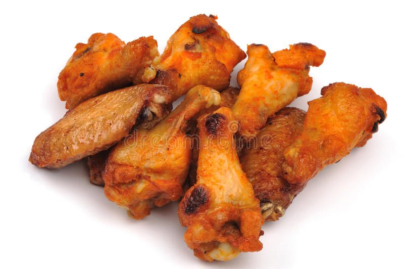 крыла цыпленка стоковое фото