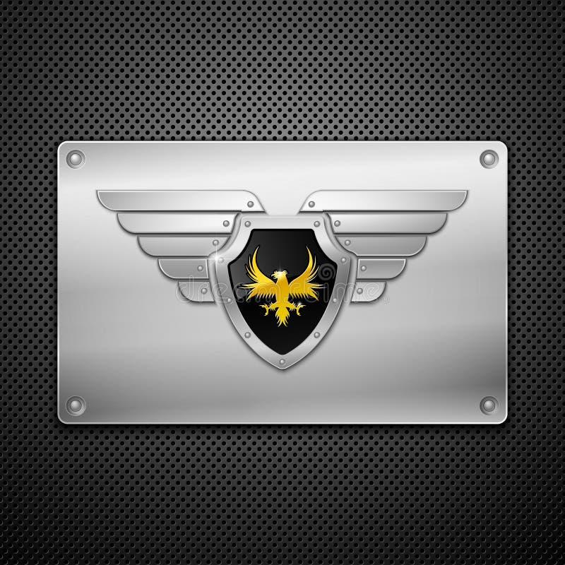 крыла экрана орла иллюстрация штока