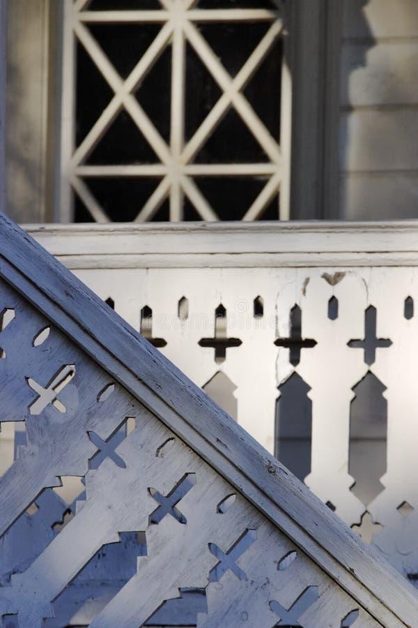 крылечко деревянное стоковое фото