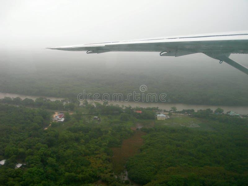 крыло полета воздушных судн стоковое фото rf